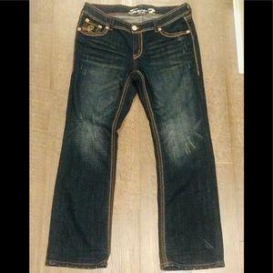 Plus size 16 SEVEN 7 jeans Boot cut Luxe